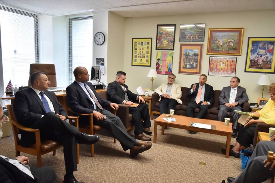 Assemblyman Ramos brought together a group of clergy from around the 6th district to meet with Deputy Commissioner Karim Camara of the NYS Office of Faith Based Community Development Services. The mee