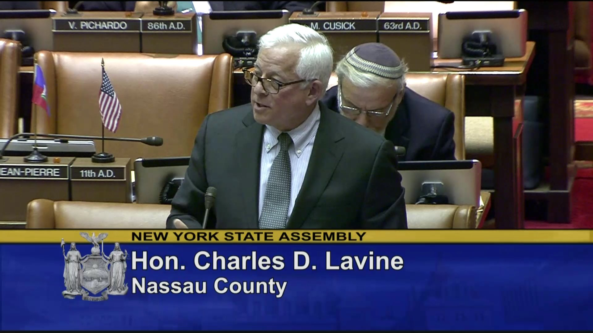 Lavine Debates Reproductive Health Act
