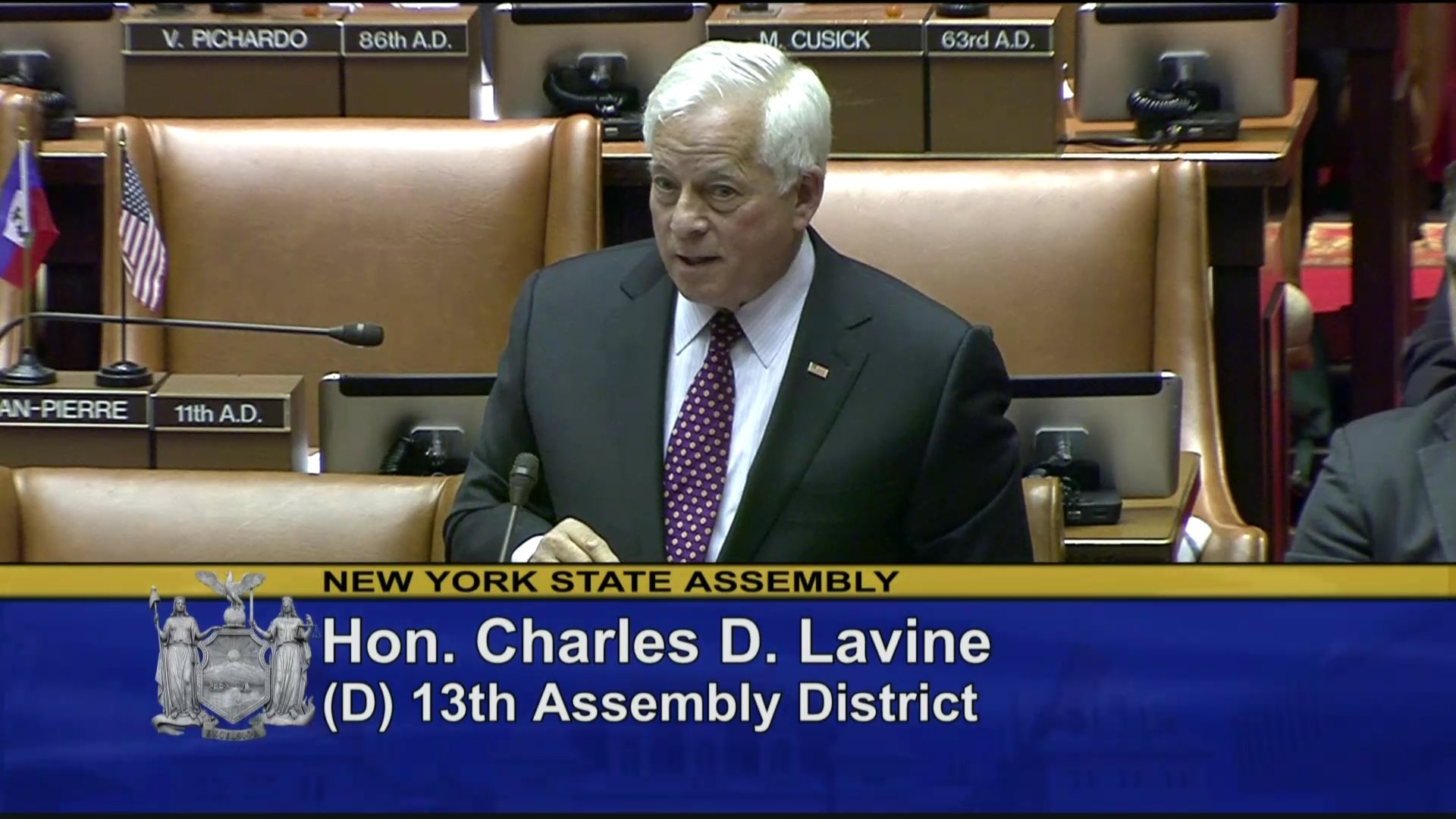 Assemblyman Lavine Fights for Early Voting