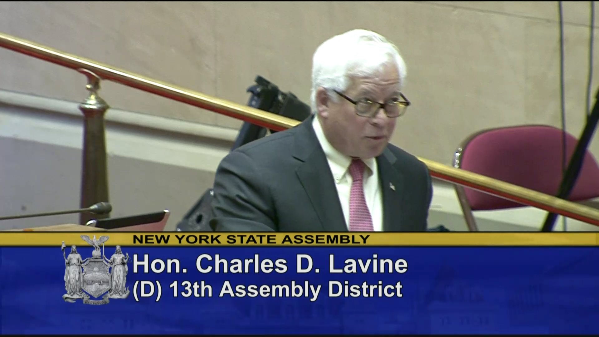 Assemblymember Lavine Introduces Cadet Jungmin Lee