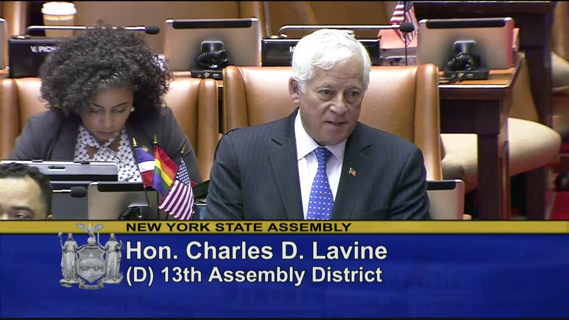 Assemblymember Lavine Fights for Specialized Courts