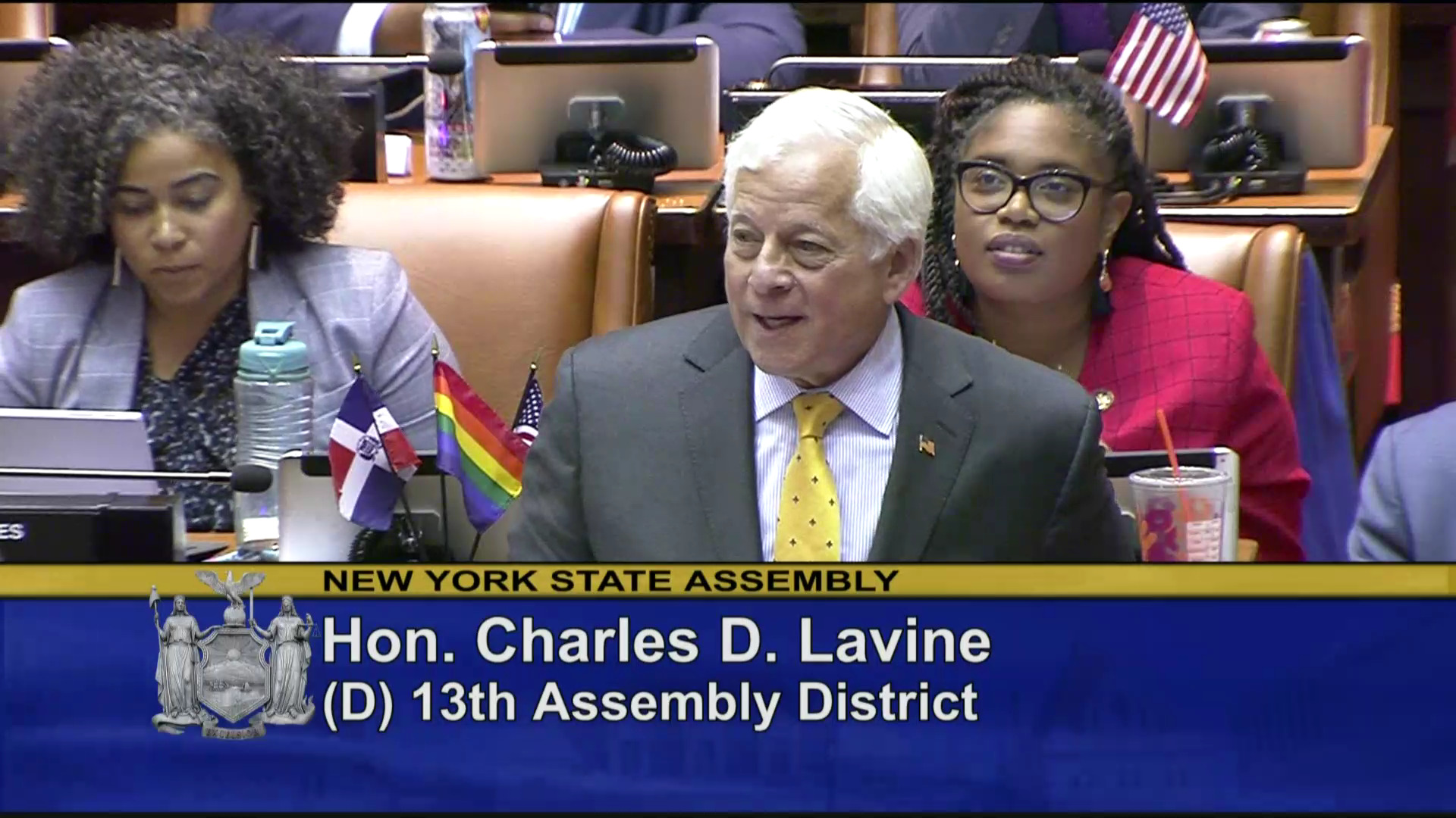 Lavine Speaks in Favor of Bill Prohibiting the Declawing of Cats