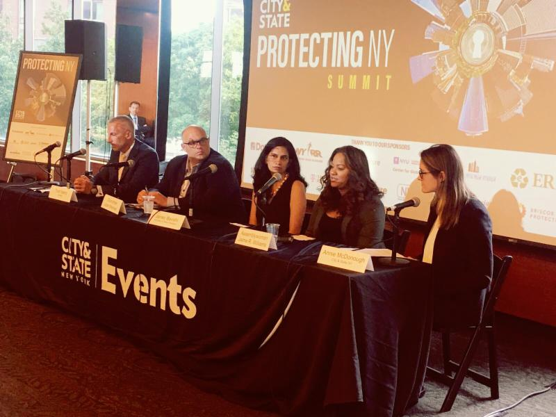 City and State Magazine's Protecting NY Panel Discussion on Disaster Management and Prevention Solutions.