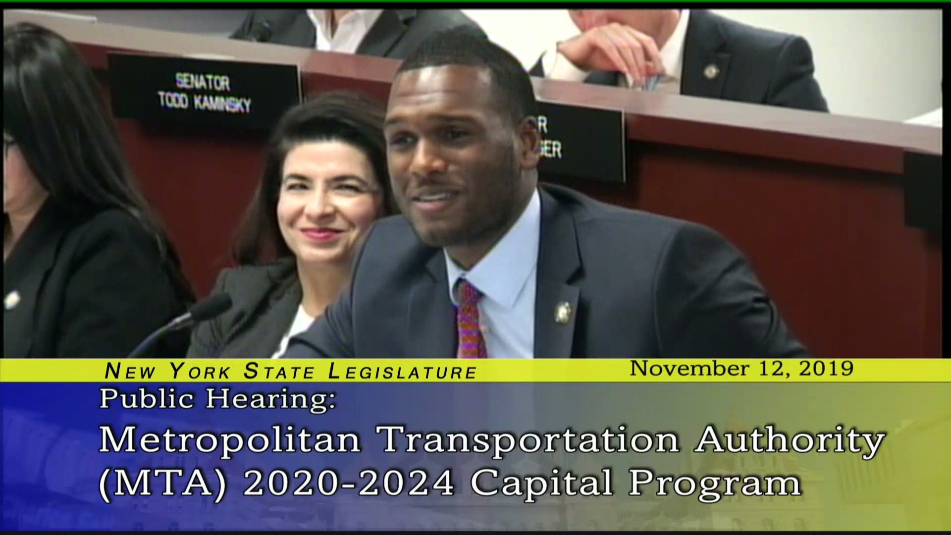 Public Hearing on MTA 2020-2024 Capital Program
