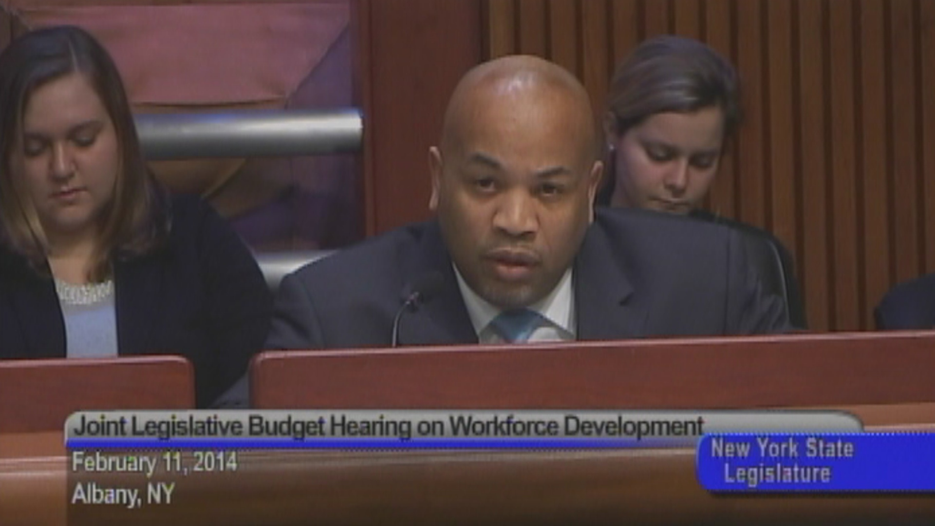 Budget Hearing on Workforce Development