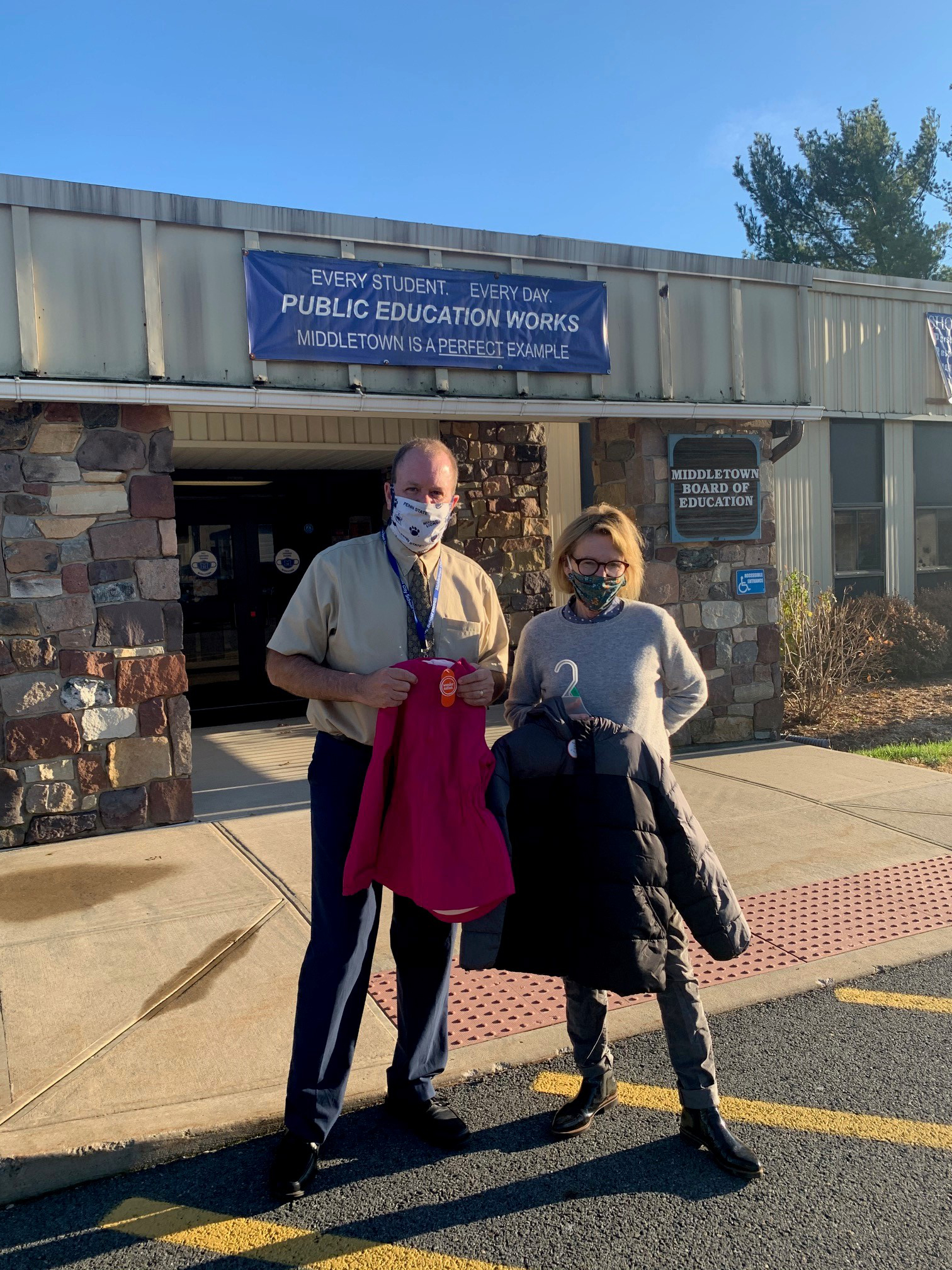 Today I had the privilege of delivering over 300 coats, boots, hats, and gloves to local school districts throughout the 100th District. This is an initiative that I have been doing for years. The pa