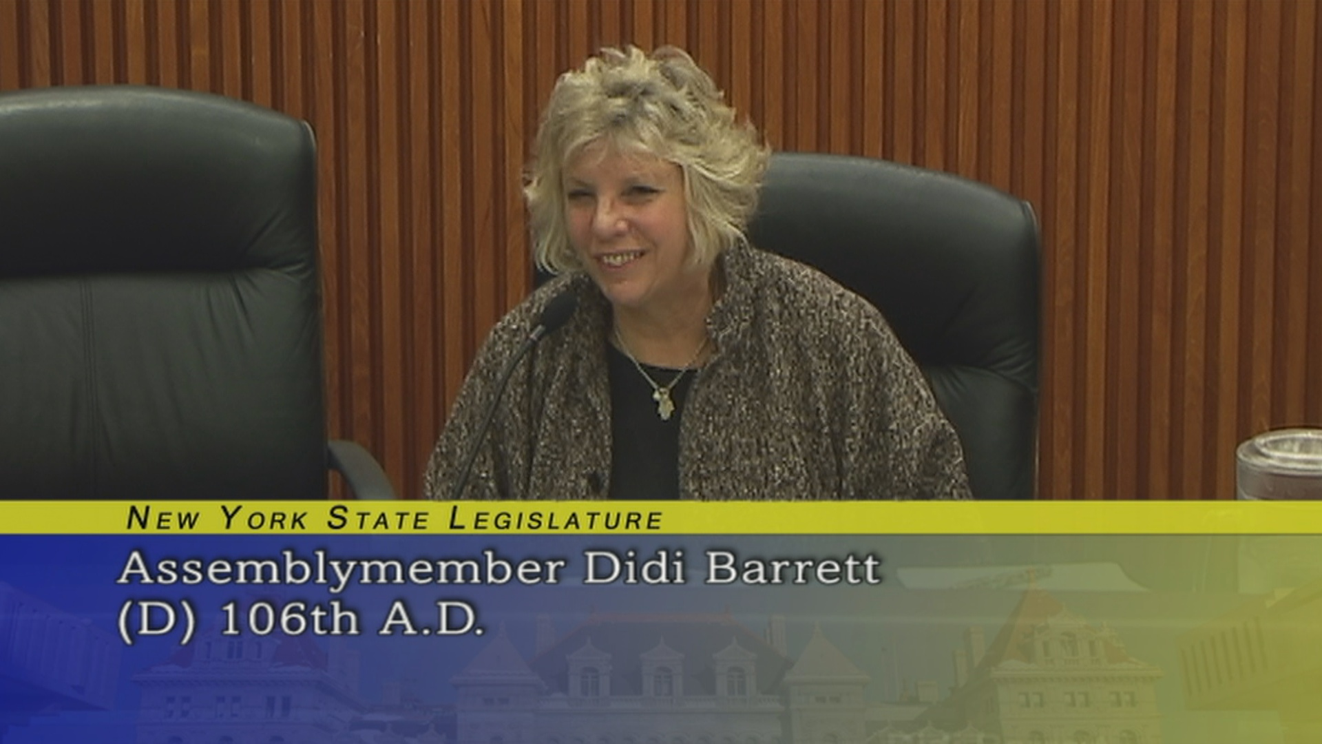 Assemblymember Barrett Discusses Private and Public Partnerships