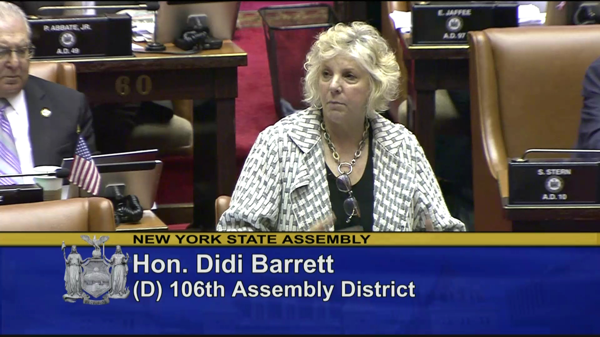 Barrett Discusses Discharged Veterans