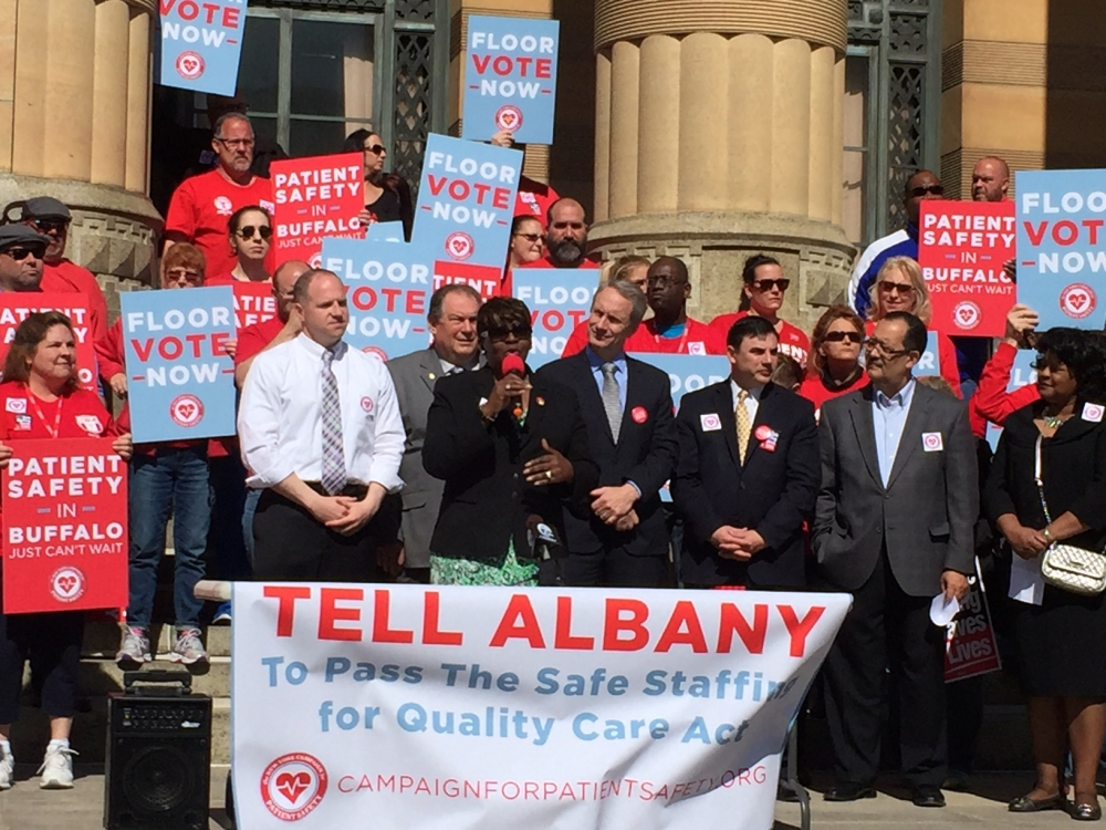May 06, 2016 � Assemblywoman Peoples-Stokes stands with advocates in support of the Safe Staffing For Quality Care Act.