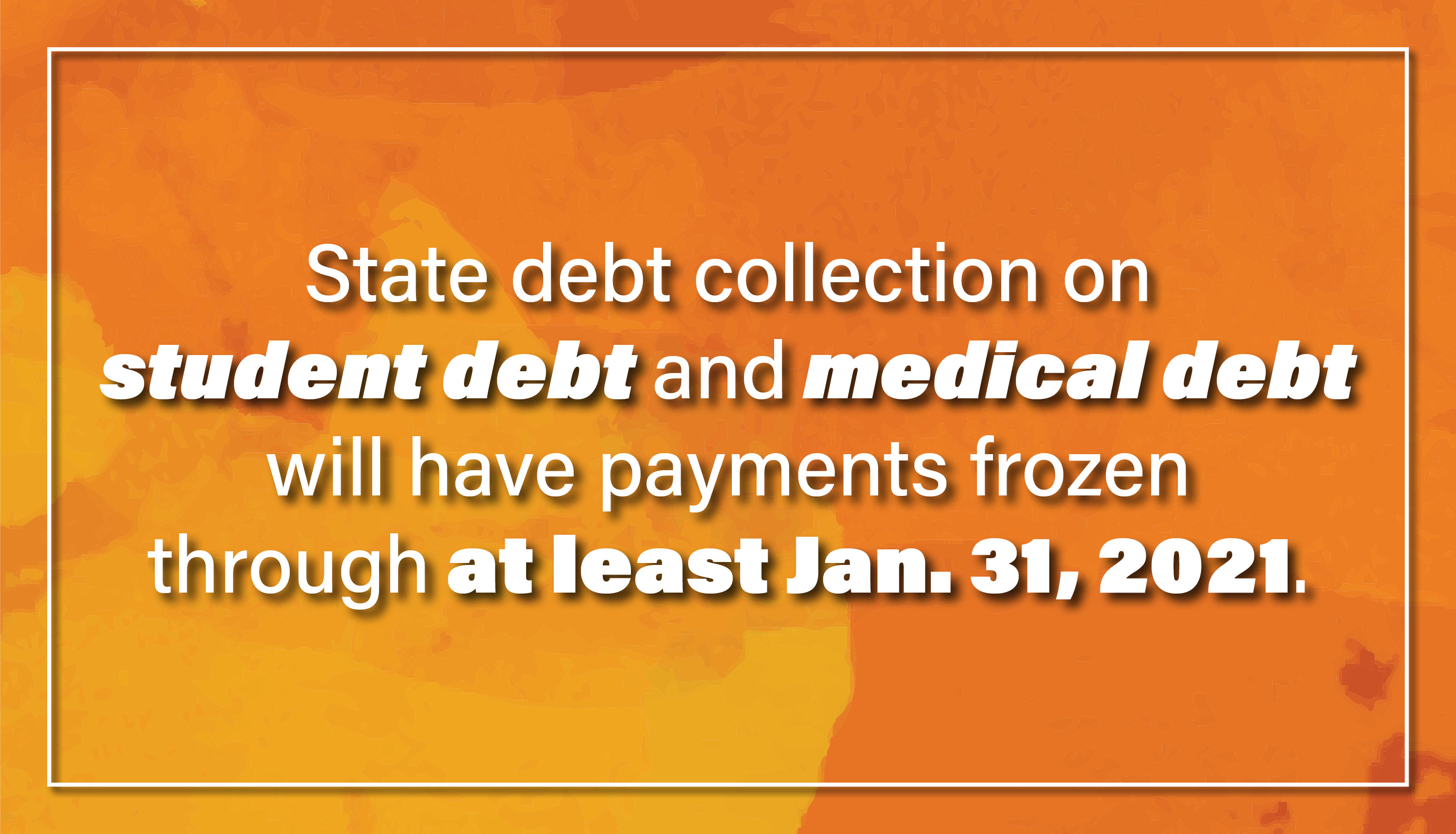 State debt collection on student debt and medical debt