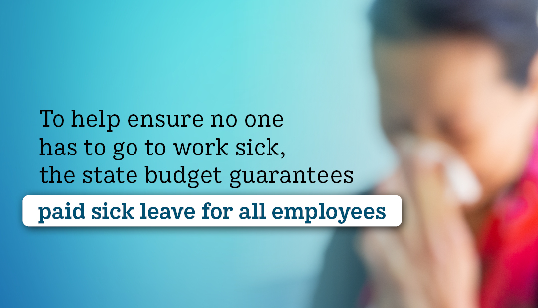 Sick leave and benefits