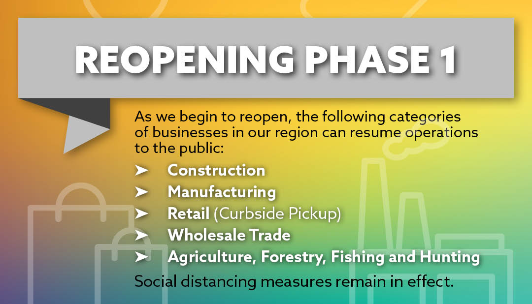 Reopening - Phase 1