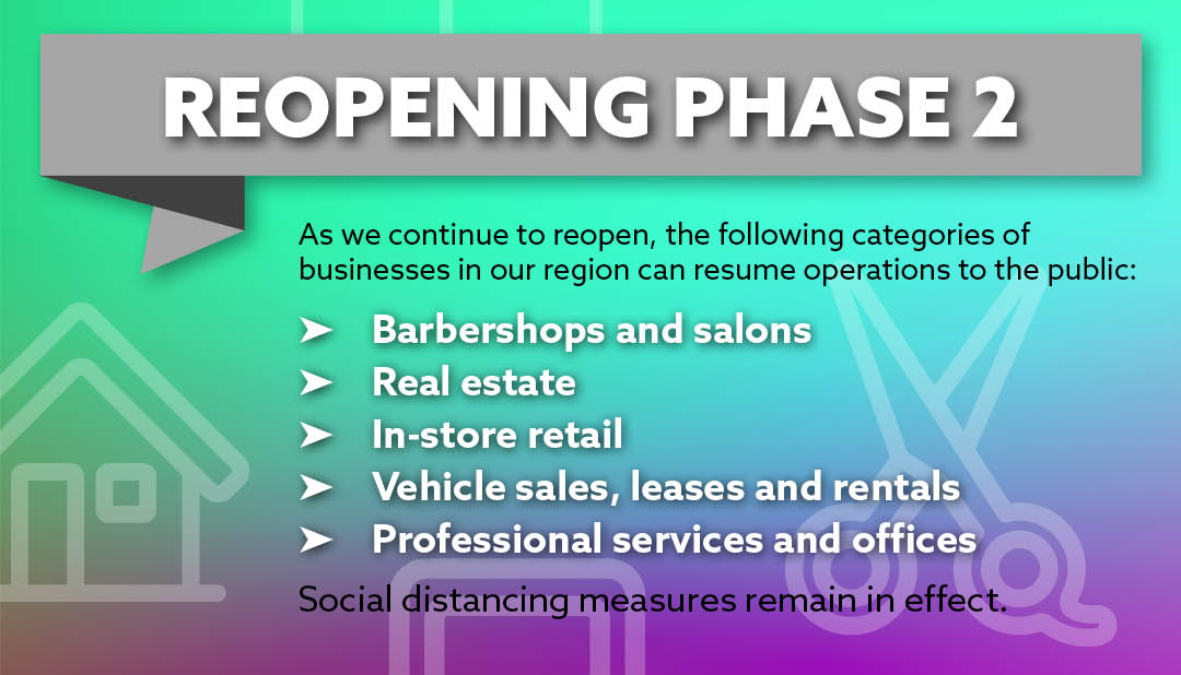 Reopening - Phase 2
