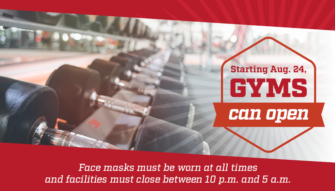 Opening Gyms